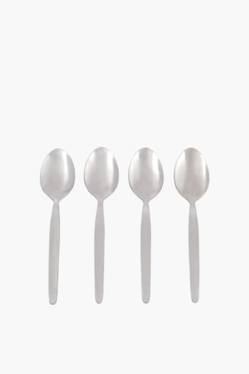 4 Pack Caterware Teaspoons