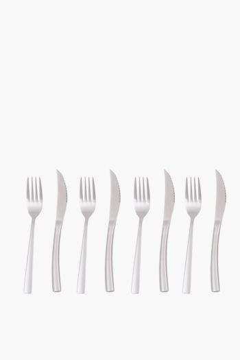 8 Piece Steak Knife And Fork Set