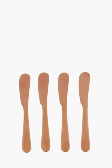 Set Of 4 Pate Knives