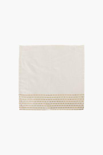 100% Cotton Dotted Metallic Napkin