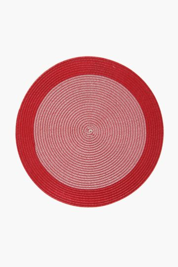 Two Tone Round Placemat