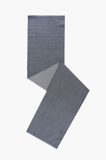 100% Cotton Zig Zag Runner