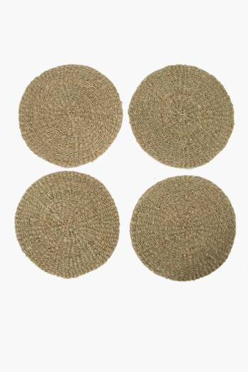 4 Malawi Sea Grass Placemats