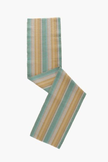 100% Cotton Striped Table Runner