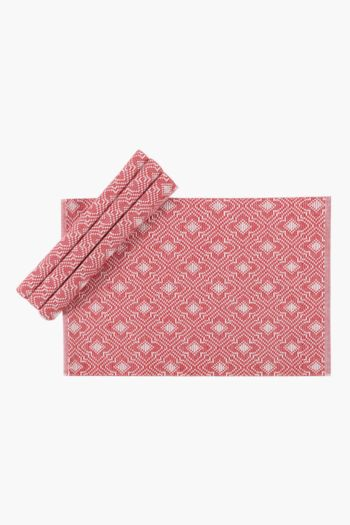 4 Pack Geo Ribbed Placemats