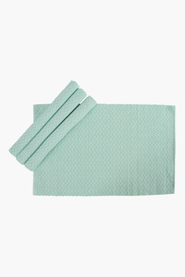 Pack Of 4 Zig Zag Placemats