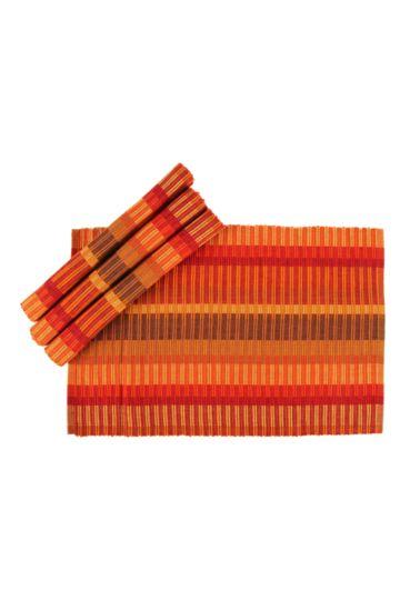4 Pack Kumi Ribbed Placemat