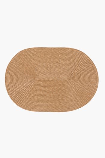 Plastic Oval Placemat