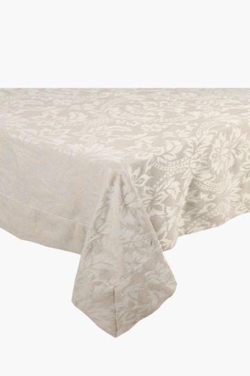 Infinity Floral Table Cloth, 180x270cm