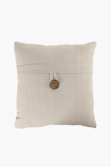 Coconut Button 50x50cm Scatter Cushion