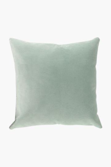 Plain Textured Scatter Cushion, 60x60cm