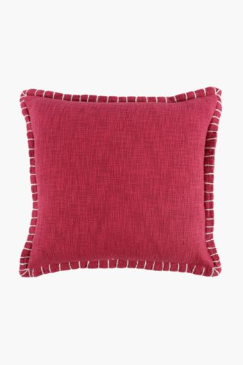 Edge Stitch Scatter Cushion, 50x50cm