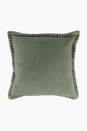 Edge Stitch Scatter Cushion, 50x50cm
