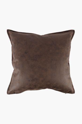 Pu Distressed Scatter Cushion, 50x50cm