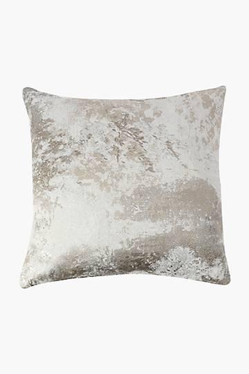 Jacquard Mediterranean Feather Scatter Cushion, 60x60cm