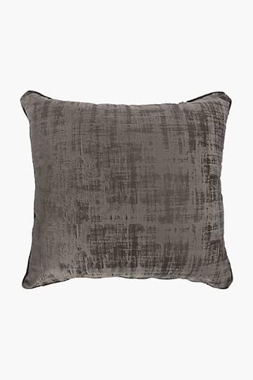 Velvet Fleck New York Feather Scatter Cushion, 60x60cm