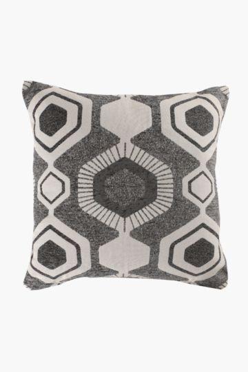 Jacquard Geometric 60x60cm Scatter Cushion