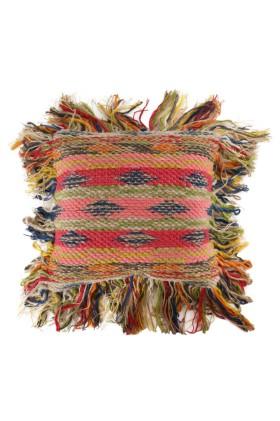 Woolen Shaggy 50x50cm Scatter Cushion