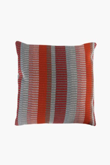 Jacquard Multi Stripe 60x60cm Scatter Cushion