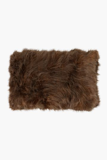 Faux Fur 40x60cm Scatter Cushion