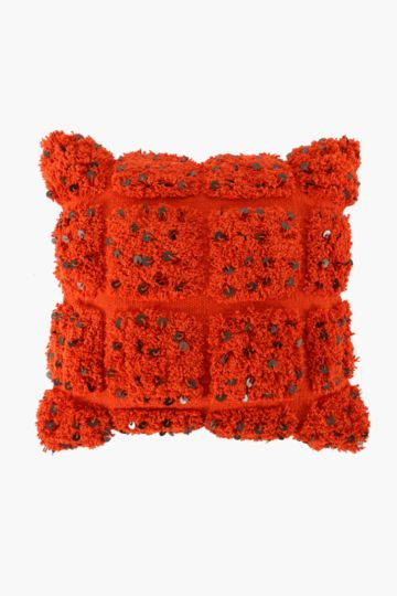 Cotton Shaggy 50x50cm Scatter Cushion