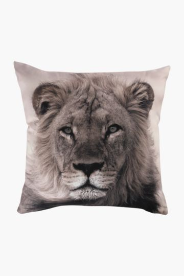 Digital Lion 50x50cm Scatter Cushion