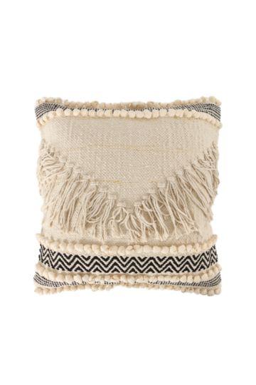 Textured Tassel 50x50cm Scatter Cushion