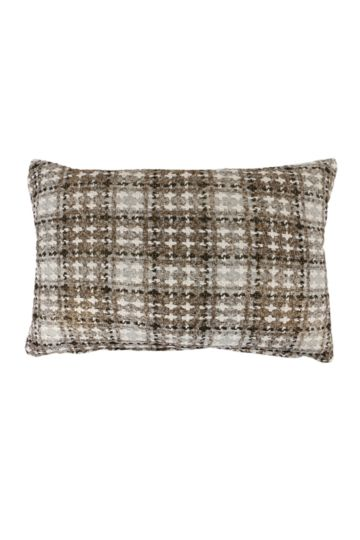 Tweed Metallic 40x60cm Scatter Cushion