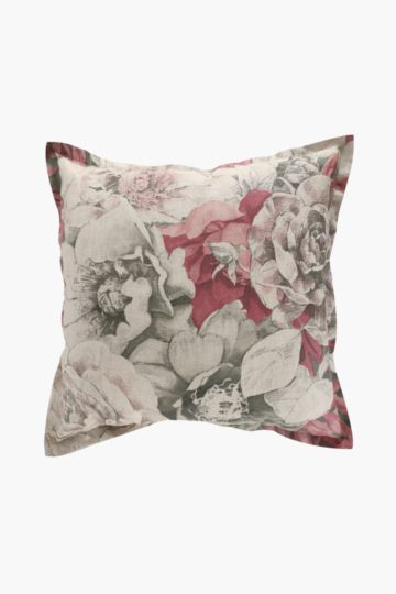 Printed Botanic Garden Feather 60x60cm Scatter Cushion