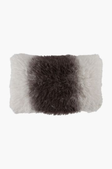 Faux Fur Ombre Shaggy 40x60cm Scatter Cushion