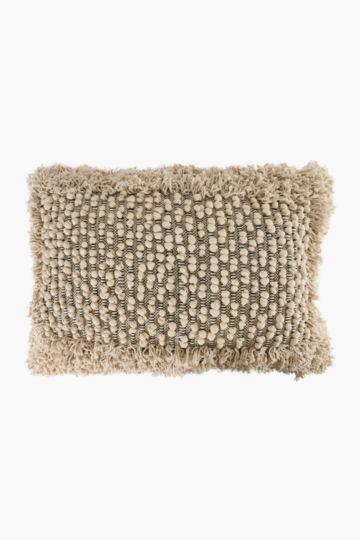 Textured Tassle 60x90cm Floor Scatter Cushion