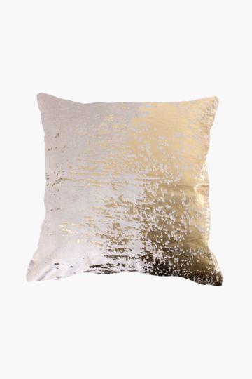 Metallic Velvet 50x50cm Scatter Cushion
