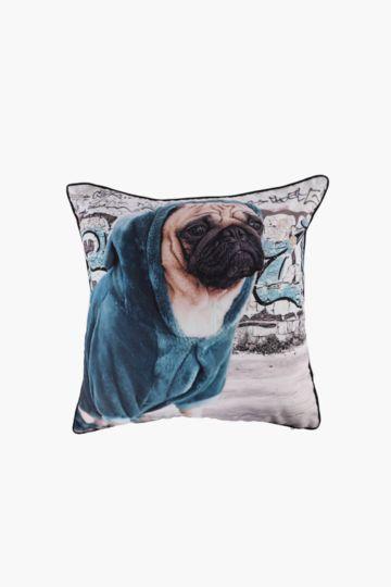 Digital Dog 50x50cm Scatter Cushion