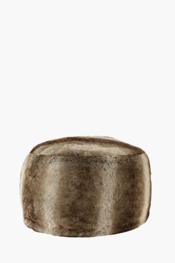 Faux Fur 60x30cm Bean Bag