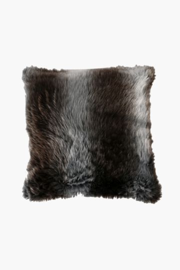 Faux Fur 60x60cm Scatter Cushion