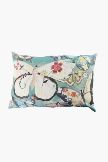 Printed Boho Butterfly 40x60cm Scatter Cushion