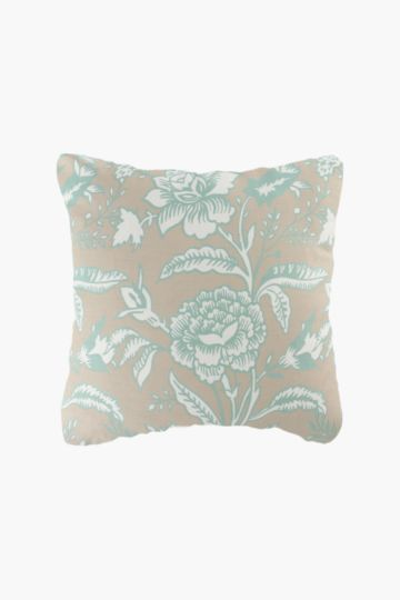 2 Pack Printed Floral 45x45cm Scatter Cushion Covers