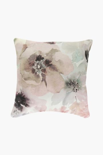 Printed Magnolia 60x60cm Scatter Cushion