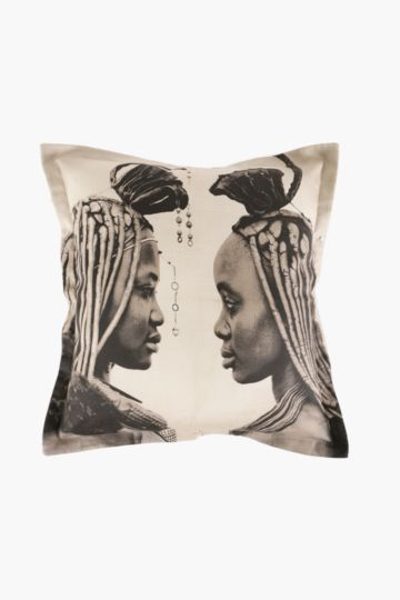 Printed Himba Ladies 55x55cm Scatter Cushion