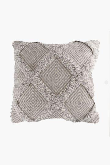Tassel Diamond 50x50cm Scatter Cushion