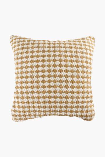 Geometric Diamond 75x75cm Floor Cushion
