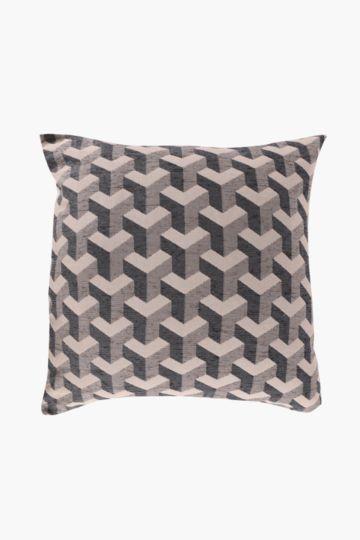 Chenille 3D 60x60cm Scatter Cushion