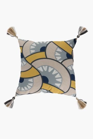 Rustic Swirl Scatter Cushion, 50x50cm