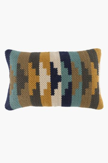 Chindi Ombre Scatter Cushion, 40x60cm