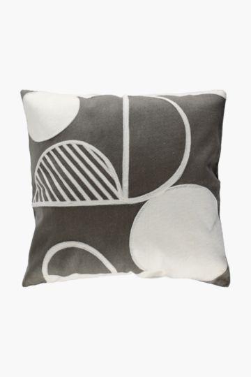 Aura Crewel Scatter Cushion, 50x50cm