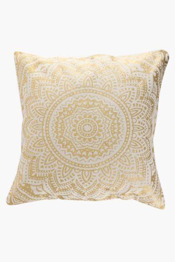 Metallic Floor Cushion, 80x80cm