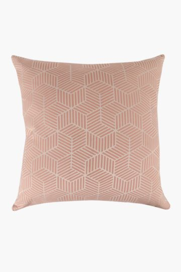 Woven Geometric Scatter Cushion, 60x60cm