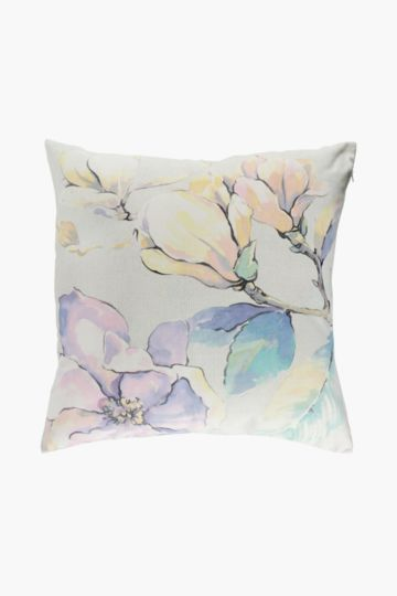 Printed Camelia Scatter Cushion, 60x60cm