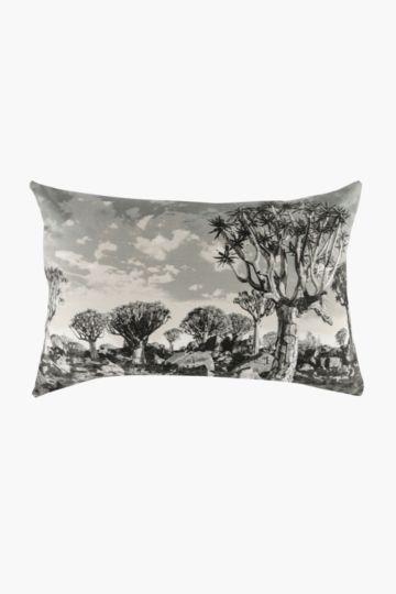 Printed Landscape Scatter Cushion, 40x60cm