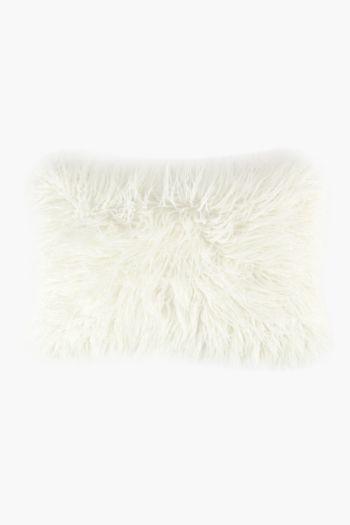 Faux Fur Scatter Cushion, 40x60cm